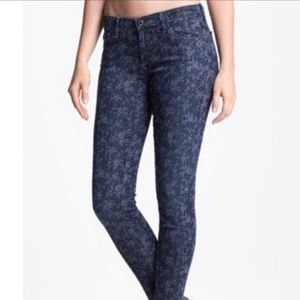 AG + Liberty floral jeans